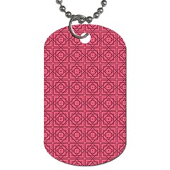 Lantana Dog Tag (two Sides) by deformigo