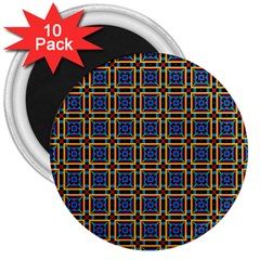 Crosslake 3  Magnets (10 Pack)  by deformigo