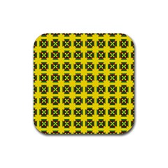 Pomeroy Rubber Square Coaster (4 Pack)  by deformigo