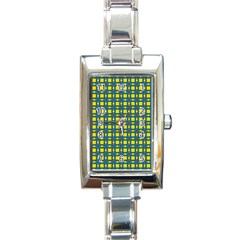 Wannaska Rectangle Italian Charm Watch
