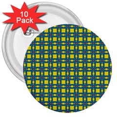 Wannaska 3  Buttons (10 pack)