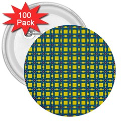 Wannaska 3  Buttons (100 pack)