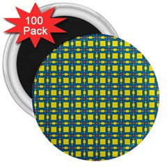 Wannaska 3  Magnets (100 pack)