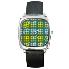 Wannaska Square Metal Watch