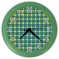 Wannaska Color Wall Clock