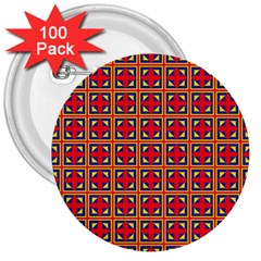 Ambrose 3  Buttons (100 pack)