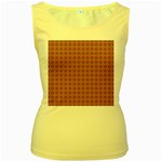 Persia Women s Yellow Tank Top Front