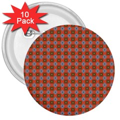 Persia 3  Buttons (10 pack)