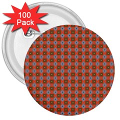 Persia 3  Buttons (100 pack)