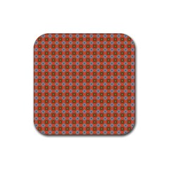 Persia Rubber Square Coaster (4 pack)