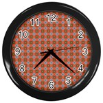 Persia Wall Clock (Black) Front