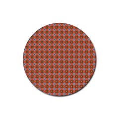 Persia Rubber Round Coaster (4 pack)