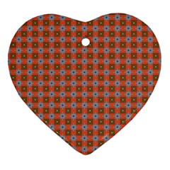Persia Heart Ornament (Two Sides)