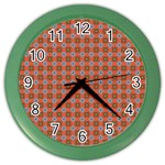 Persia Color Wall Clock Front