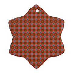 Persia Snowflake Ornament (Two Sides)