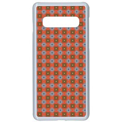 Persia Samsung Galaxy S10 Seamless Case(White)