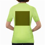Montezuma Women s Green T-Shirt Back