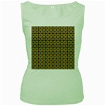 Montezuma Women s Green Tank Top Front