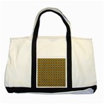 Montezuma Two Tone Tote Bag Front