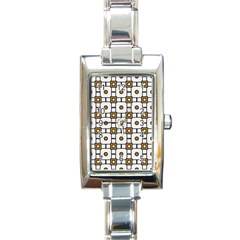 Peola Rectangle Italian Charm Watch by deformigo