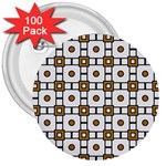 Peola 3  Buttons (100 pack)  Front