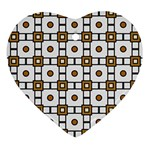 Peola Heart Ornament (Two Sides) Front