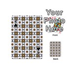 Peola Playing Cards 54 Designs (Mini) Front - Spade2
