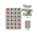 Peola Playing Cards 54 Designs (Mini) Front - Heart4