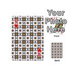 Peola Playing Cards 54 Designs (Mini) Front - Heart6