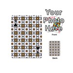 Peola Playing Cards 54 Designs (Mini) Front - Spade4