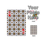Peola Playing Cards 54 Designs (Mini) Front - HeartK