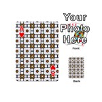 Peola Playing Cards 54 Designs (Mini) Front - HeartA