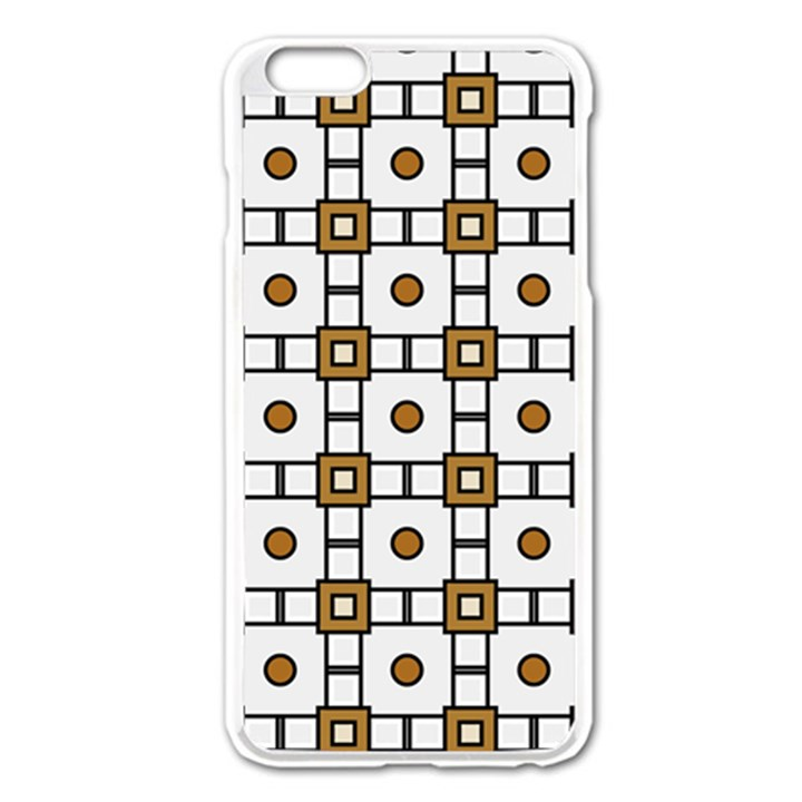Peola iPhone 6 Plus/6S Plus Enamel White Case