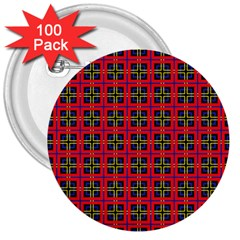 Wolfville 3  Buttons (100 Pack)  by deformigo