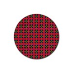Wolfville Rubber Round Coaster (4 pack)  Front