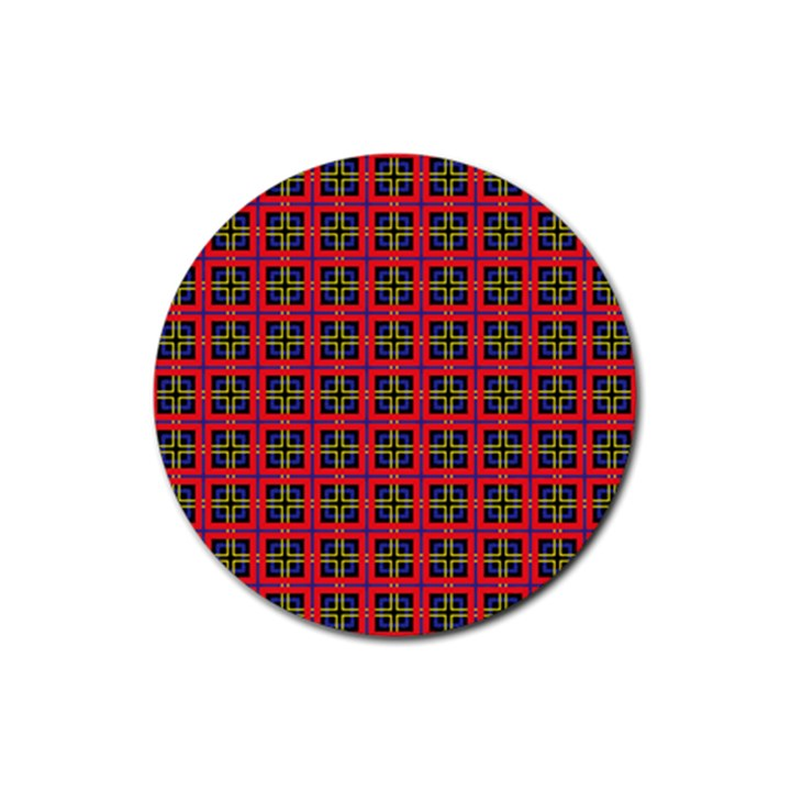 Wolfville Rubber Round Coaster (4 pack)