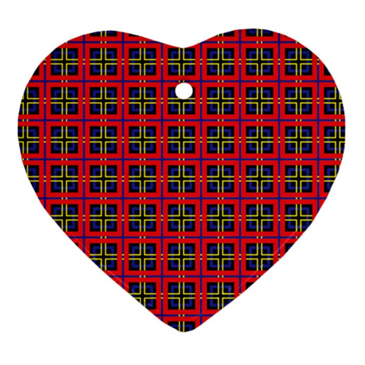 Wolfville Heart Ornament (Two Sides)