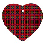 Wolfville Heart Ornament (Two Sides) Back