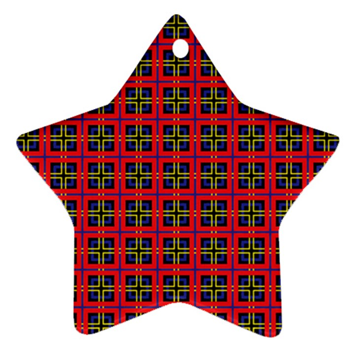 Wolfville Star Ornament (Two Sides)
