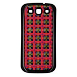 Wolfville Samsung Galaxy S3 Back Case (Black) Front