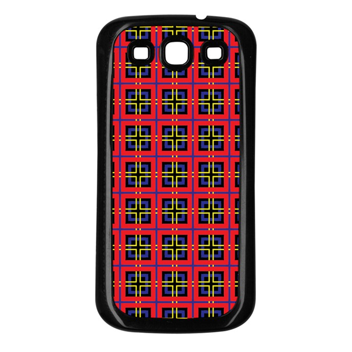Wolfville Samsung Galaxy S3 Back Case (Black)
