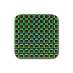 Thinis Rubber Square Coaster (4 Pack)  by deformigo