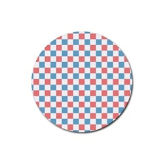 Graceland Rubber Round Coaster (4 Pack)