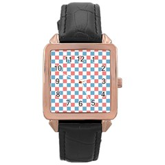 Graceland Rose Gold Leather Watch
