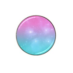 Pastel Goth Galaxy  Hat Clip Ball Marker (4 Pack) by thethiiird