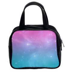 Pastel Goth Galaxy  Classic Handbag (two Sides) by thethiiird