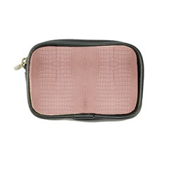 Pink Alligator Print Coin Purse