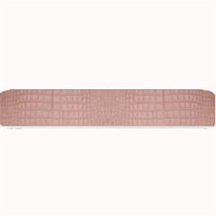 Pink Alligator Print Small Bar Mats by LoolyElzayat