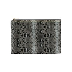 Python Snakeskin Print Cosmetic Bag (medium) by LoolyElzayat