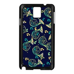 French Horn Samsung Galaxy Note 3 N9005 Case (black) by BubbSnugg